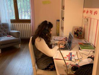 TED Kocaeli Koleji Özel Anadolu Lisesinde Dersler Canlı Olarak Online Devam Ediyor!