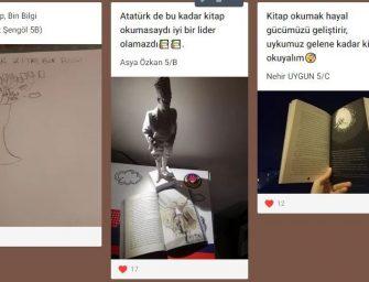 """5.SINIF ÖĞRENCİLERİ """"ANA FİKRİM BUDUR"""" FİKİR YARIŞMASINDA"""