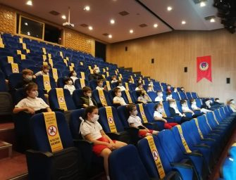 İlkokulu Öğrencilerine 'Pandemi Sürecinde Okul Kuralları' Sunumu