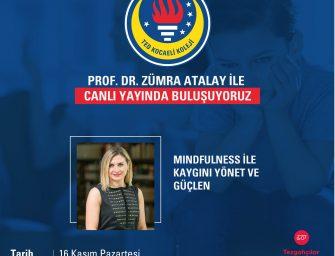 Prof. Dr. Zümra Atalay ile canlı yayında buluşuyoruz.