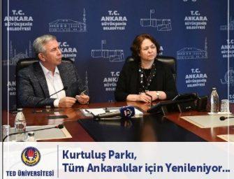 Türk Eğitim Derneğinin en güçlü kollarından olan TED Üniversitesi, adını verdiği bölgeye vefa borcunu ödüyor.