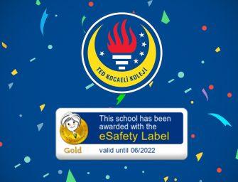 eSafety Güvenlik Etiketimiz Altın Seviyesinde!